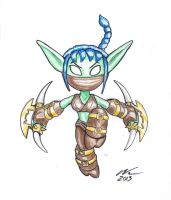 Skylanders - Stealth Elf by GrimlockGT