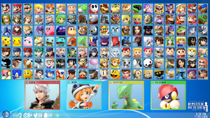 ROSTER BUILDER 4 Image Pack - Smash Bros. for PC! by ConnorRentz