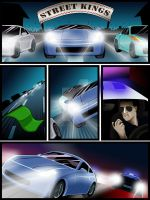 Street Racer Game Comics (p.1) by AngelInWutherland