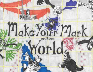 Make Your Mark on the World by ENIMINEMOE