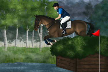 Bruce: Cheval Cross Country by BlueFire-Phoenix