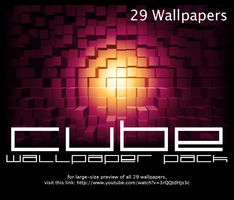 Cube Wallpaper Pack by salmanarif