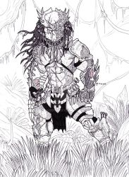 Hate Predator in Jungle by Bender18