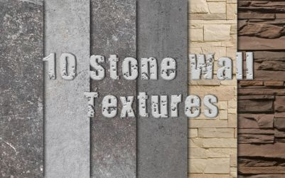 .: Stone Wall Textures :. by DigitalConnection