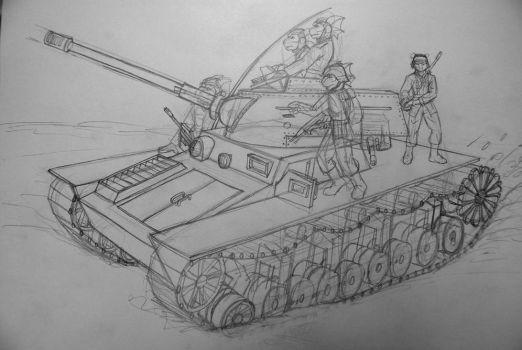 Military Training TUV-D 32 WIP by A-Teivos