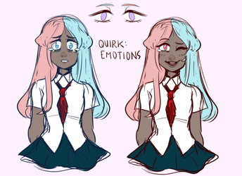 MHA: Emotional by oreorc
