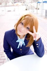 k-on - Yui by saraaamarie