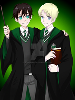 Albus and Scorpius by yesi-chan