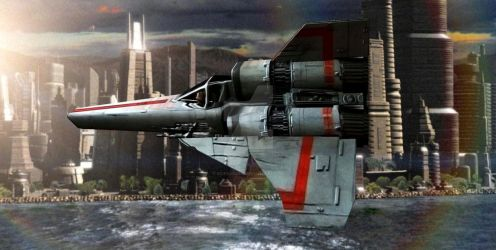 Viper MK II COLONIAL. BSG by scifilicious