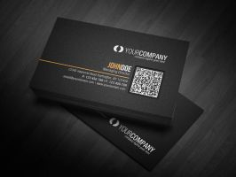 Corporate QR Code Business Card V2 by glenngoh