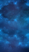 Starry night sky BG by Queen-Soulia