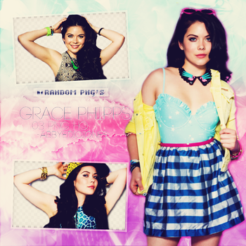 # Pack PNG - Grace Phipps # 5 by AbigailEdiciones