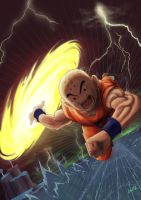 Krillin Final Attack! by Darkremnant