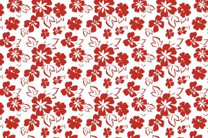 Seamless Flower Pattern-5 by 123freevectors
