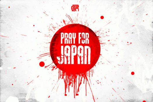 PRAY FOR JAPAN by p32n