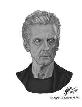 Peter Capaldi by andepoul