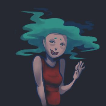 oh hi says cloud kid by complex-s