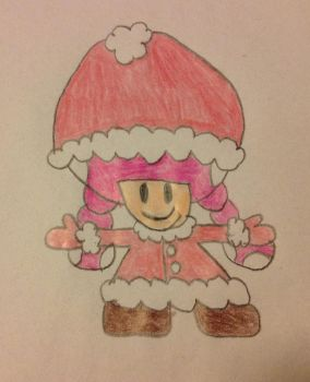 Toadette in her winter outfit by Prince5s