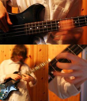What It Is to Play the Bass: 4 by MudskipperSam