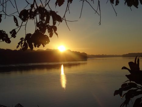 Sunrise on Tambopata by AllyxG