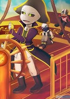 Chasember Challenge: Day 21 Pirate Clothes by CyaneWorks
