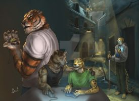 Cover Book - commission for Kattanaita by PeppeTi