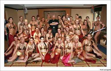 Slave Leia gathering by AlisaKiss