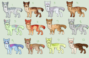 65 Point Adoptables :OPEN: by MissAbbeline