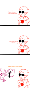Dave Strider's Epic Raps by yufery5
