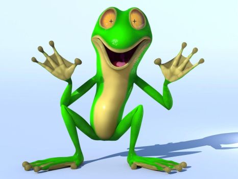 Mr. Frog Full view by Yosh-hid