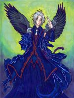 Scientist Witch Angel by metallic-feather
