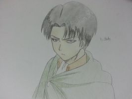 Rivaille (Corporal Rivaille) by yusaemi