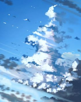 Clouds by anonamos701