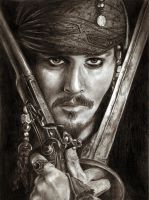 Jack Sparrow by Lilianne