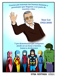Homenaje a Stan Lee by Otra-Historia-Comic