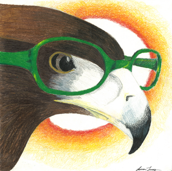 Intelligent Eagle by zynwolf