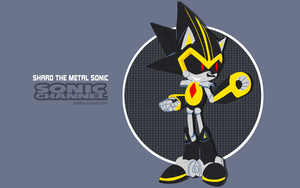 Shard the Metal Sonic - Sonic Channel Style by Pidifer