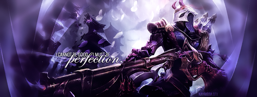 Blood Moon Jhin - Facebook cover photo by Iskierka0