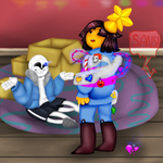 *Whoops* Undertale contest entry by evillovebunny500