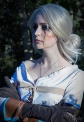 Cirilla Fiona Elen Riannon (The Witcher 3 ver.) by ver1sa