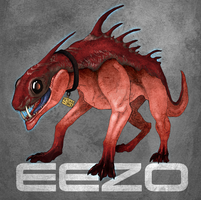 Eezo, the badass biotic by vinree