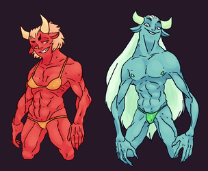Demon Guys by Minimancom