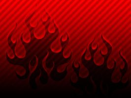 Red Flames by djog