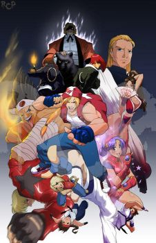 King of Fighters 2009 by Robaato