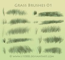 Free PS Grass Brushes by s1088
