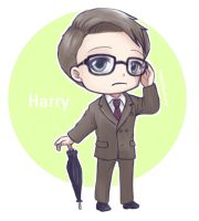Harry Hart - Kingsman by snowprism