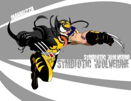 Mannuzza Symbiotic Wolverine by Mannuzza