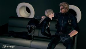 Jill x Wesker 7 by Sherringui
