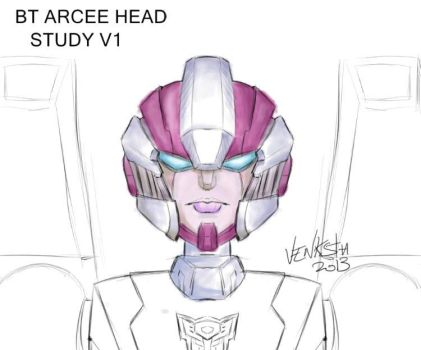 Arcee BT Head Study by Venksta