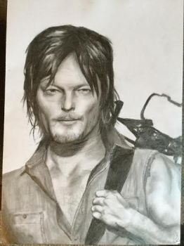 Daryl Dixon by Psychotic-Turtle